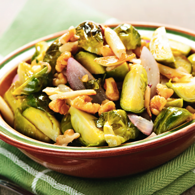 weight loss direct apple pecan roasted Brussel sprouts